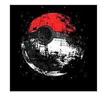 Pokeball Death Star Photographic Print