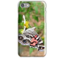 AMERICAN LADY ON SPANISH NEEDLES iPhone Case/Skin