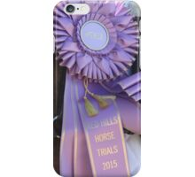 Purple Ribbon iPhone Case/Skin