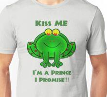 Kiss me, I'm a Prince... I Promise!!! Unisex T-Shirt