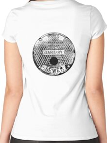 Sewer Women's Fitted Scoop T-Shirt