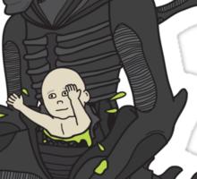 Xenomorph Irony Sticker