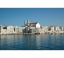 Italy coast Photographic Print