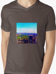 Utopia Parkway Mens V-Neck T-Shirt