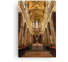 •●♥Ƹ̵̡Ӝ̵̨̄Ʒ♥●•٠·˙●•٠·Saint Vitus Cathedral Prague •●♥Ƹ̵̡Ӝ̵̨̄Ʒ♥●•٠·˙●•٠· Canvas Print