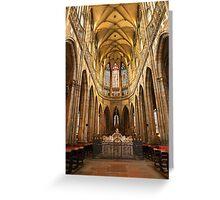 •●♥Ƹ̵̡Ӝ̵̨̄Ʒ♥●•٠·˙●•٠·Saint Vitus Cathedral Prague •●♥Ƹ̵̡Ӝ̵̨̄Ʒ♥●•٠·˙●•٠· Greeting Card