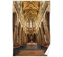 •●♥Ƹ̵̡Ӝ̵̨̄Ʒ♥●•٠·˙●•٠·Saint Vitus Cathedral Prague •●♥Ƹ̵̡Ӝ̵̨̄Ʒ♥●•٠·˙●•٠· Poster