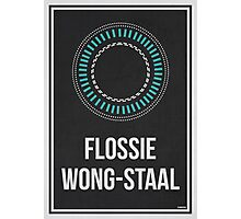 FLOSSIE WONG-STAAL - Women In Science Wall Art Photographic Print