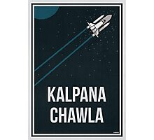 KALPANA CHAWLA - Women In Science Wall Art Photographic Print