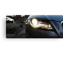 Audi A4 Daytime Running Lights Canvas Print