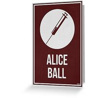 ALICE BALL - Women In Science Wall Art Greeting Card
