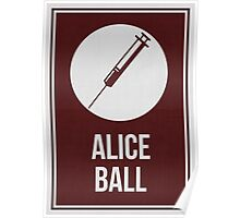 ALICE BALL - Women In Science Wall Art Poster