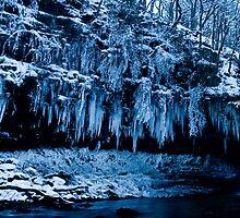 Winter Wonderland - Glyn Neath, Wales by Nate Hallett