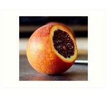 Blood Orange (Sliced) Art Print