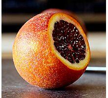 Blood Orange (Sliced) Photographic Print