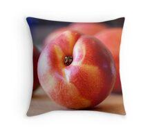 Nectarine Throw Pillow