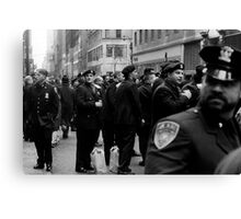 NYC Cops Canvas Print