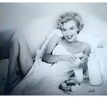 BREAKFAST WITH MARILYN Photographic Print