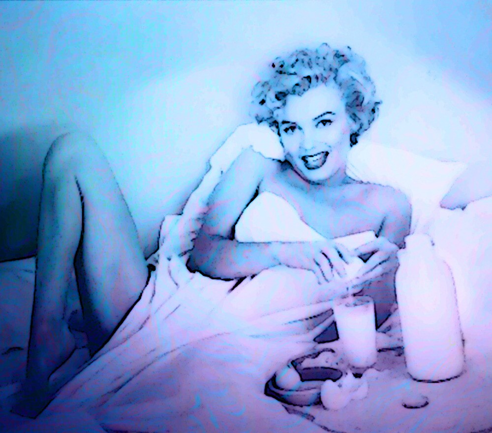 BREAKFAST WITH MARILYN 3 by Tammera