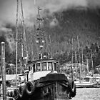 Alaskan Trawler  - Harbourside by Scott Howard