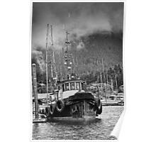 Alaskan Trawler  - Harbourside Poster