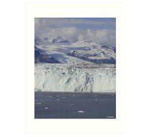 The Great Glaciers of Alaska Art Print