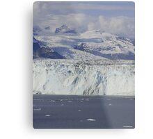 The Great Glaciers of Alaska Metal Print