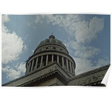 Capitolio - Cuban Capitol Building Poster