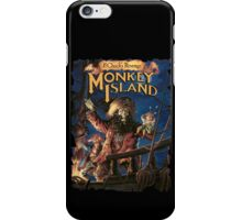 Monkey Poster iPhone Case/Skin