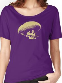 Sombrero de los Muertos - tan Women's Relaxed Fit T-Shirt