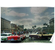 Capital District Havana Poster
