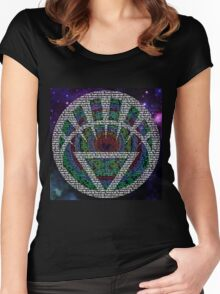 All Lanterns come from White Women's Fitted Scoop T-Shirt
