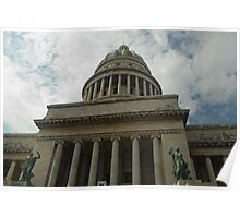 Capitolio - Cuban Capital Building 2 Poster