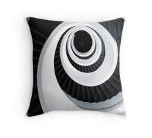 Spiral out... keep going... Throw Pillow