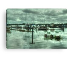 Skippool Creek High Tide  Canvas Print