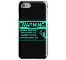 Warning: Mako Energy iPhone Case/Skin