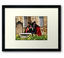 The Count and Victim Framed Print