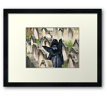 Escaping The Grave Framed Print