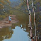 &quot;Solitude&quot; Oil Painting (best view large) by Alison Murphy
