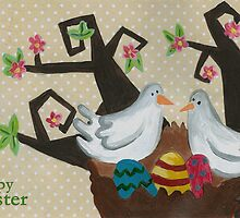 Happy Easter by Sanne Thijs