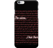 Twitch Plays Pokemon: The Voices, I Hear Them iPhone Case/Skin