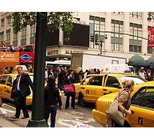 Crowded Corner Photographic Print