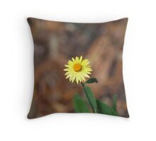 Only one flower  Throw Pillow