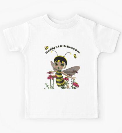Daddy's Little Busy Bee Kids Tee