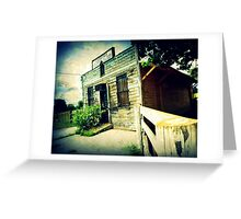 Postage Due Greeting Card