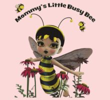 Mommy's Little Busy Bee One Piece - Long Sleeve