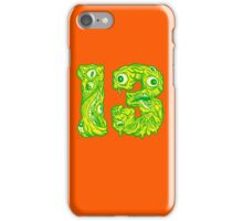 ugly 13 iPhone Case/Skin