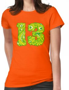 ugly 13 Womens Fitted T-Shirt