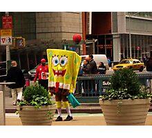 Sponge Bob Square Pants Photographic Print