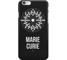 MARIE CURIE (Light Lettering) - Clothing & Other Products iPhone Case/Skin